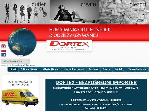 Dortex.pl importer odzieży używanej