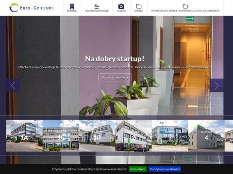 Euro-centrum.com.pl powierzchnia biurowa