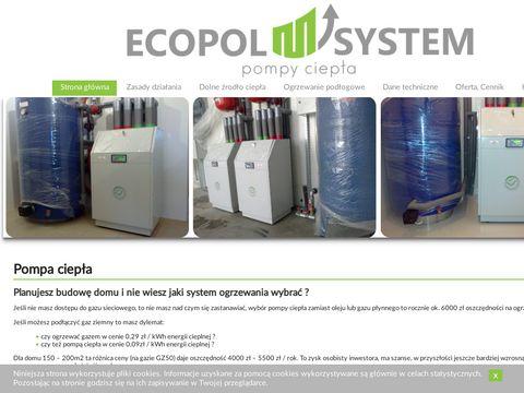 Ecopol-system TTG pompy ciepła