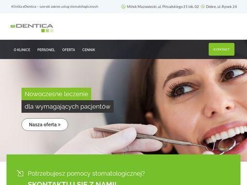 Edentica.pl stomatolog Mińsk Mazowiecki