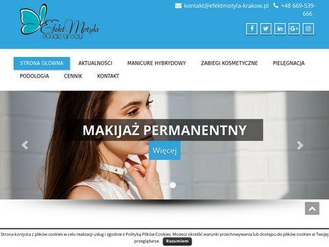 Efektmotyla-krakow.pl manicure hybrydowy