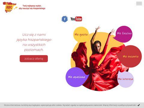 Język hiszpański w El ABC Latino