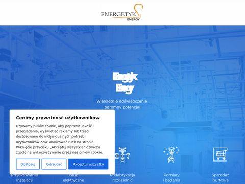 Energetykenergy.pl montaż instalacji elektrycznych