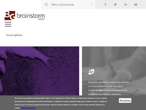 Brainstorm.biz.pl - gry szkoleniowe