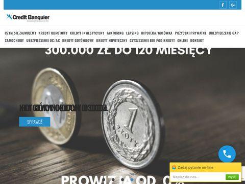 Bankierkredyty.eu inwestycyjne dla firm