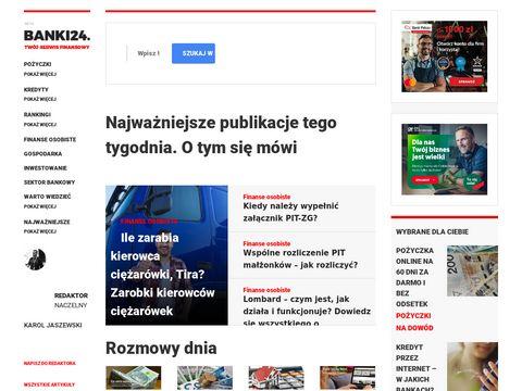 Banki24.com.pl opinie o kredytach