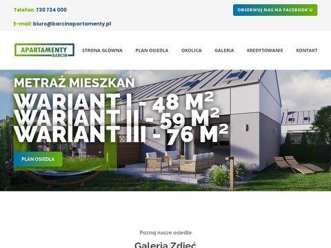 Barcinapartamenty.pl na sprzedaż