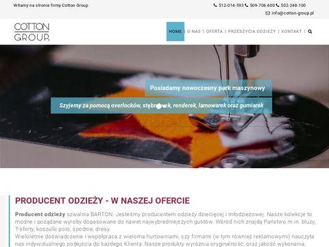 Barton.net.pl szwalnie Łódź