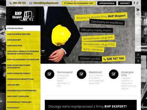 Bhpekspert.net usługi