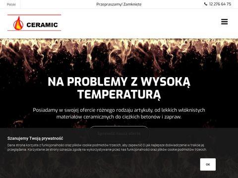 Ceramic - zaprawa ogniotrwała