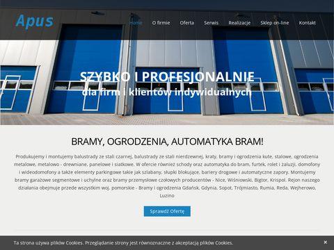 Apus.comweb.pl ogrodzenia Wejherowo