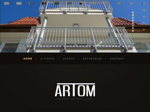 Artom24.pl balustrady Gdańsk