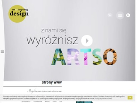 Artso.pl projektowanie stron www Poznań