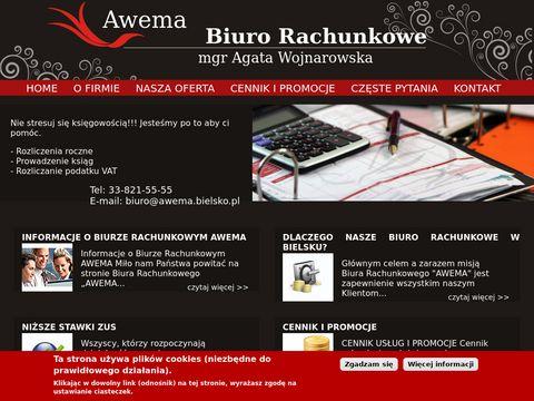 Awema-bielsko.pl biuro rachunkowe