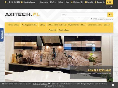 Axitech.pl - panele szklane do kuchni