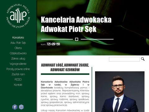 Adwokat-sekpiotr.pl w Łodzi i w Zgierzu