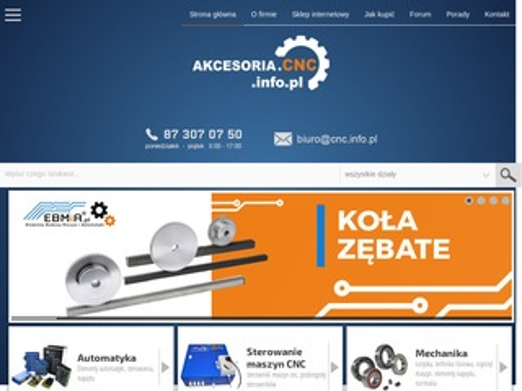 Akcesoria.cnc.info.pl narzędzia