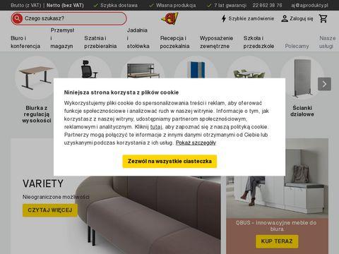 Ajprodukty.pl wyposażenie magazynu