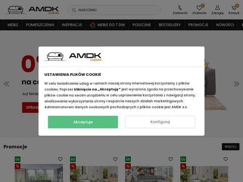 Amdk.pl narożniki z funkcją spania