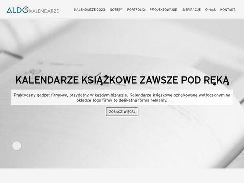 Aldo-kalendarze.pl reklamowe trójdzielne