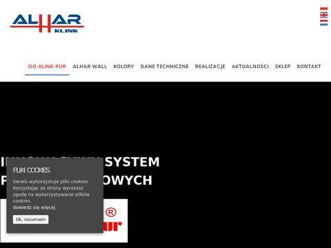 Alhar.pl klinkier elewacyjny