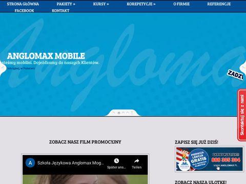 Anglomax.pl korepetycje Mogilno