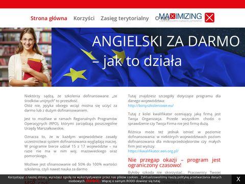 Angielskizdofinansowaniem.pl dla firm