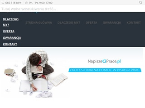 Napiszeciprace.pl - pomoc dla studentów