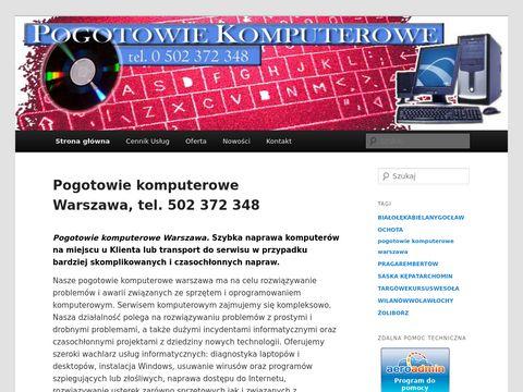 Naprawakomputerapc.pl informatyk Warszawa