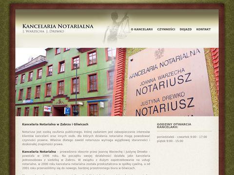 Notariuszegliwice.pl - kancelaria notarialna