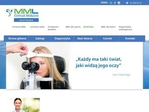 MML okulistyka