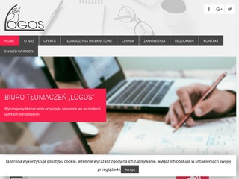 Logos - biuro tłumaczeń Dąbrowa Górnicza