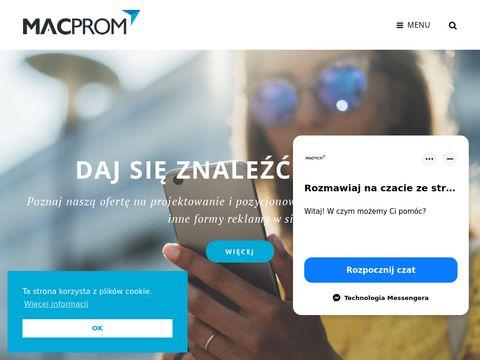 Macprom projektowanie Stron