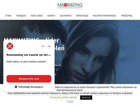 Maximizing.com.pl angielski dla firm