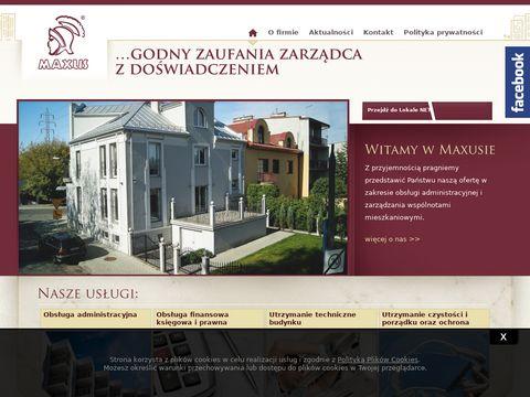 Maxus - administracja nieruchomościami Kraków