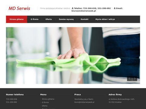Mdserwisweb.pl firmy sprzątające Kraków