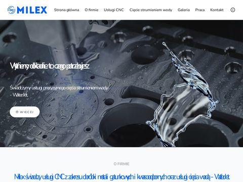 Milex usługi CNC