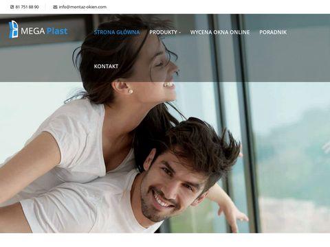 Montaz-okien.com bramy przemysłowe Lublin