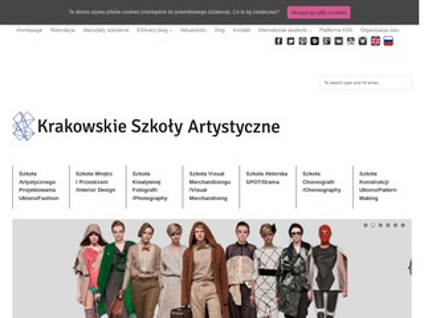 Ksa.edu.pl studia projektowanie mody