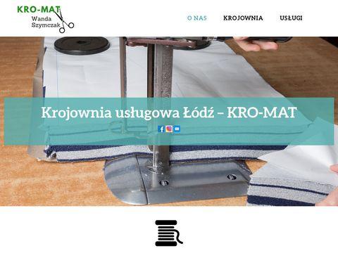 Kro-mat.pl krojownia w Łodzi