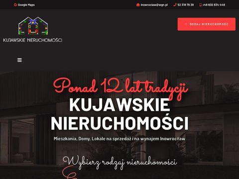 Kujawskienieruchomosci.pl domy Inowrocław