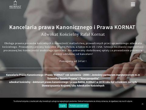 Kornat unieważnienie małżeństwa