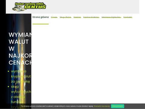 Kantorcentus.pl w Nowym Sączu