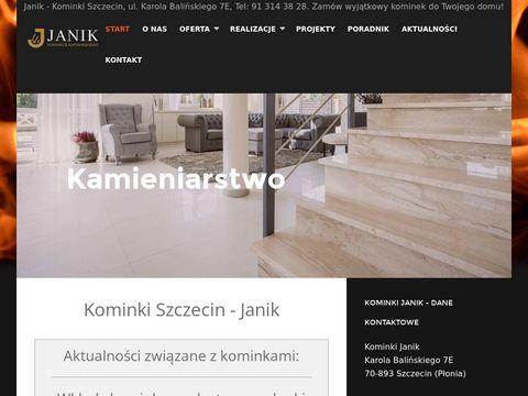 Kominki-janik.pl najwyższej jakości w Szczecinie