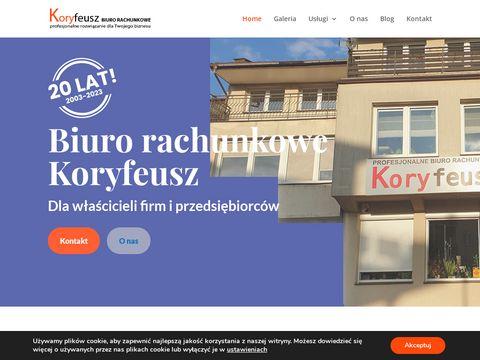 Biuro rachunkowe Kielce Koryfeusz