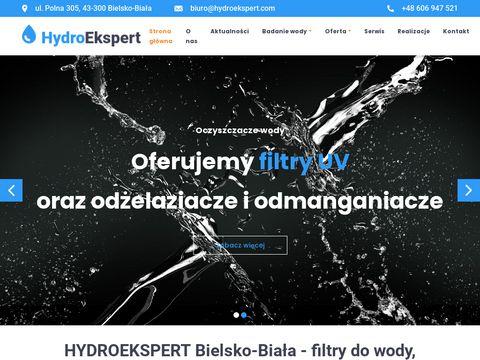 Hydroekspert.com uzdatnianie wody Bielsko