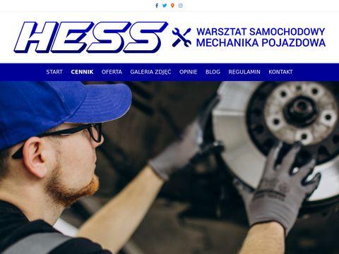 Hess.com.pl warsztat samochodowy Warszawa