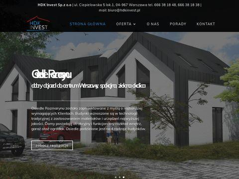 HDK Invest - osiedle pod Dębami