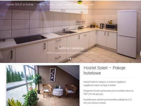 Hostelsoleil.pl - pokoje Kutno