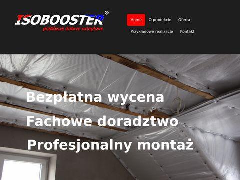 Isomaty.pl Isobooster izolacja poddaszy